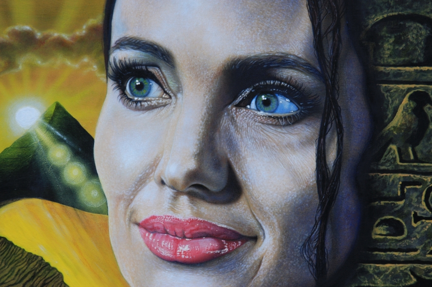 Angelina Jolie by marcart